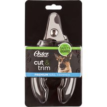 Oster Cut and Trim Premium Nail Trimmer Black
