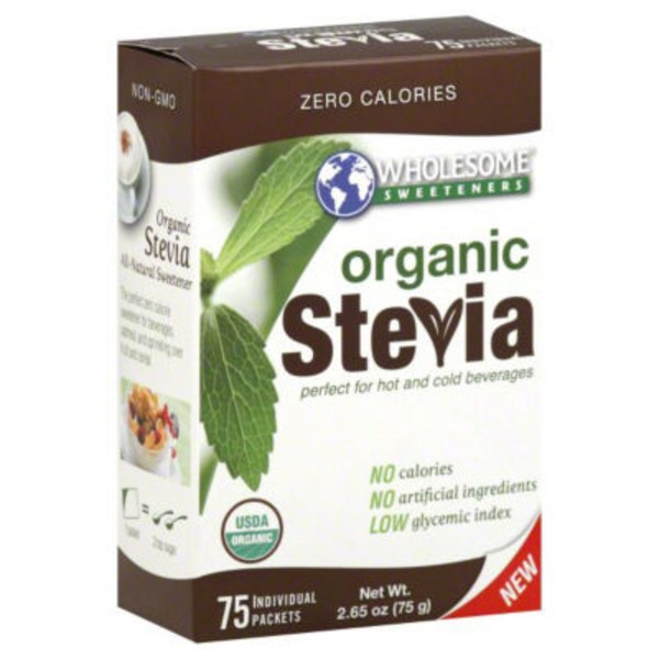 Wholesome Sweeteners Stevia Packets