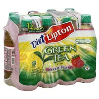 Lipton Diet Green Tea with Mixed Berry Iced Tea