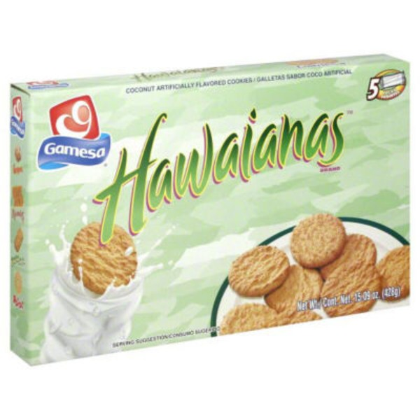 Gamesa Coconut Flavored Cookies Biscuits Cookies