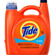 Tide 2X Clean Breeze Liquid Laundry Detergent