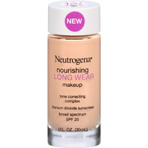 Neutrogena Nourishing Long Wear Makeup 20 Natural Ivory