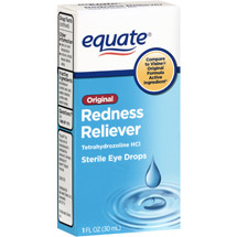 Equate Redness Reliever Sterile Eye Drops