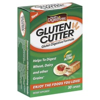 Healthy Digestives Gluten Cutter Capsules Dietary Supplement
