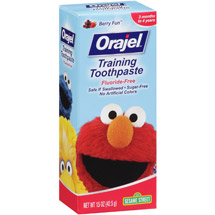 Orajel Berry Fun Training Toothpaste