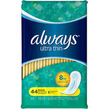 Always Pads Ultra Thin Regular Unscented