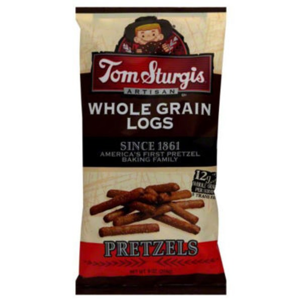 Tom Sturgis Whole Grain Logs Pretzels