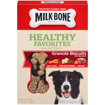 Milk-Bone Healthy Favorites Granola Dog Biscuits With Real Beef