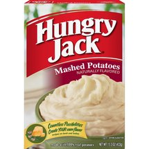 Hungry Jack Naturally Flavored Mashed Potatoes