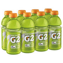 Gatorade G2 Low Calorie Lemon Lime Sports Drink 8 Ct/160 Fl Oz