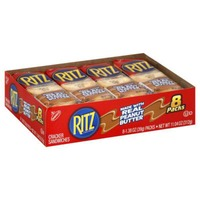 Nabisco Ritz Peanut Butter Single Serve Cracker Sandwiches
