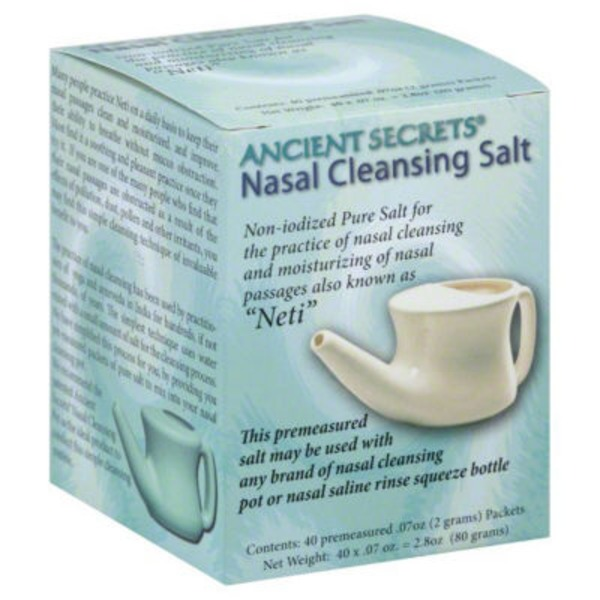 Ancient Secrets Nasal Cleansing Salt Packets