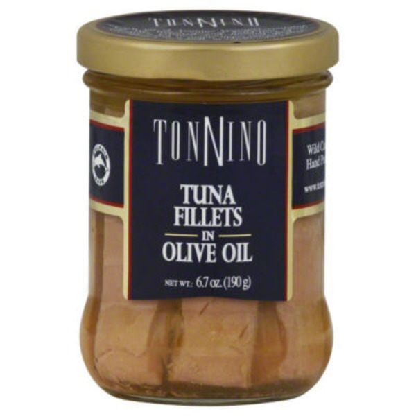Tonnino Yellowfin Tuna Fillets In Olive Oil