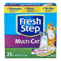 Fresh Step Multi-Cat Litter