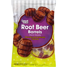 Great Value Root Beer Barrels Hard Candy