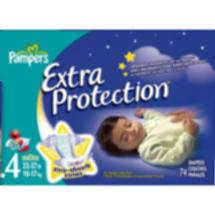 Pampers Extra Protection Diapers Size 4