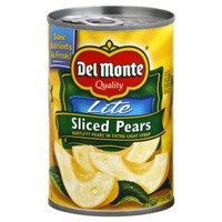 Del Monte Lite Sliced Bartlett in Extra Light Syrup Pears