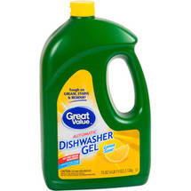 Great Value Lemon Dishwasher Gel Detegergent