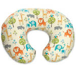 Boppy Slipcovered Feeding and Infant Support Pillow Peaceful Jungle