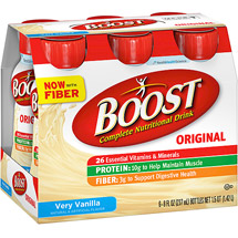 Boost Nutritional Energy Drink Vanilla