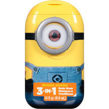 Despicable Me Minion Made 3-in-1 Body Wash Shampoo & Conditioner