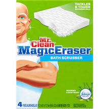 Mr. Clean Magic Eraser Bath Scrubber