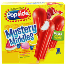 Popsicle Mystery Middles Cherry Berry Shell