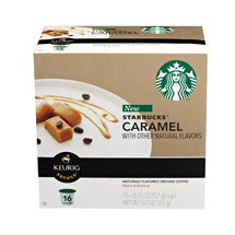 Starbucks Caramel Coffee K-cups