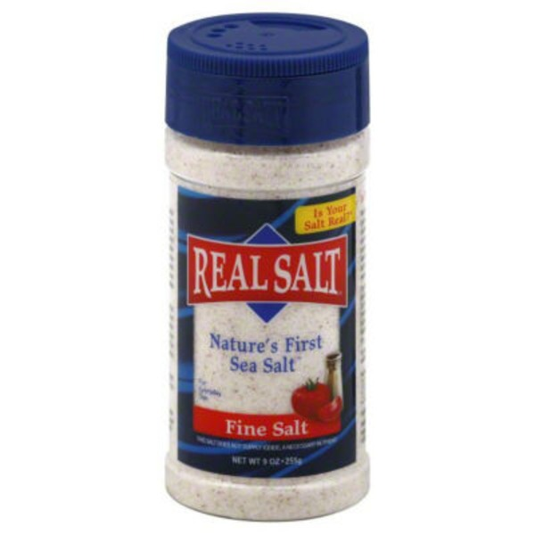 Redmond Real Real Salt Nature's First Sea Salt Fine