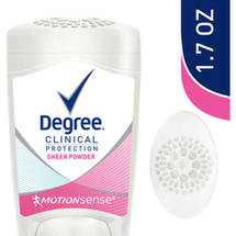 Degree Women Sheer Powder Clinical Protection Deodorant