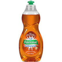 Palmolive Ultra Antibacterial Orange Concentrated Dish Liquid