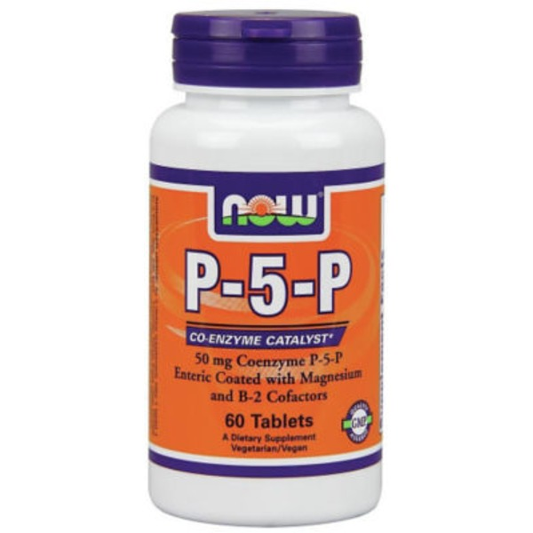 Now P-5-P 50 mg Tablets