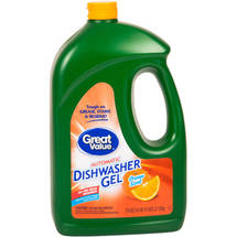 Great Value Orange Scent Dishwasher Gel Detergent