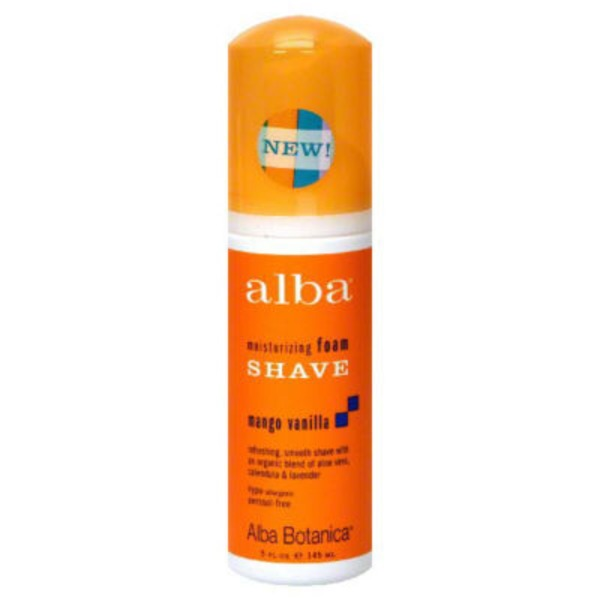 Alba Botanica Mango Vanilla Foam Shave For Normal to Dry Skin