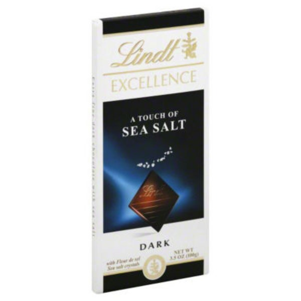 Lindt Excellence Touch of Sea Salt Dark Chocolate