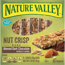 Nature Valley Almond Dark Chocolate Nut Crisp Bars