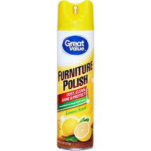 Great Value Lemon Scented Furniture Polish