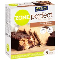 Zone Perfect All-Natural Fudge Graham Nutrition Bars