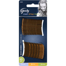 Goody Bobby Pins Brown 06089