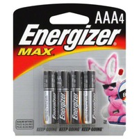 Energizer Max + Powerseal Batteries AAA - 4 CT