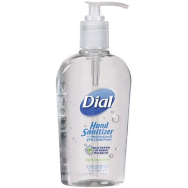 Dial Liquid Hand Soap with Moisturizers & Skin Conditioners Light Citrus Scent Hand Sanitizer