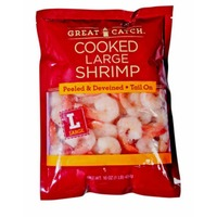Great Catch Large Cooked Peeled And Deveined Shrimp