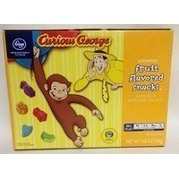 Kroger Curious George Fruit Flavored Snacks