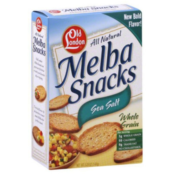 Old London Sea Salt Melba Snacks