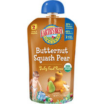 Earth's Best Second Foods Butternut Squash Pear Baby Food Puree