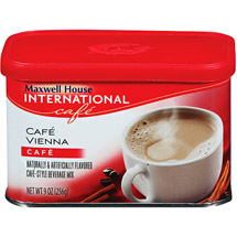 Maxwell House International Cafe Cafe Vienna Beverage Mix