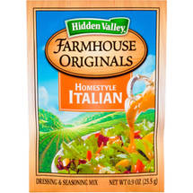 Hidden Valley Farmhouse Originals Homestyle Italian Dressing & Seasoning Mix