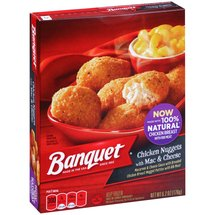 Banquet Chicken Nuggets with Mac & Cheese Frozen Entree