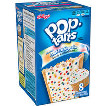 Kellogg's Pop Tarts Frosted Confetti Cupcake Toaster Pastries