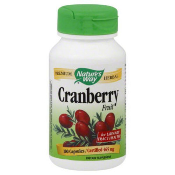 Nature's Way Cranberry Fruit 465mg Capsules - 100 CT